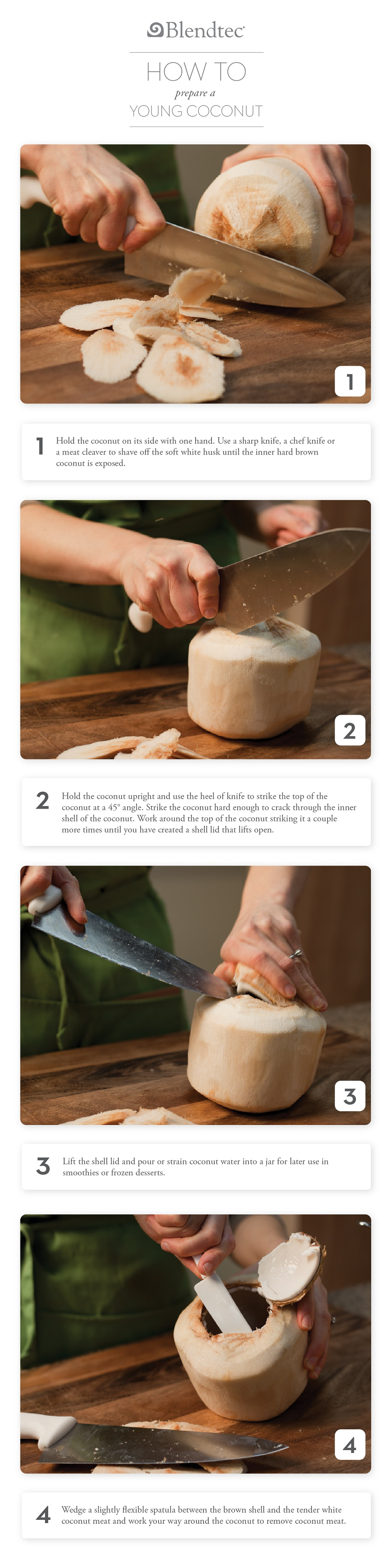 How to Prepare a Coconut