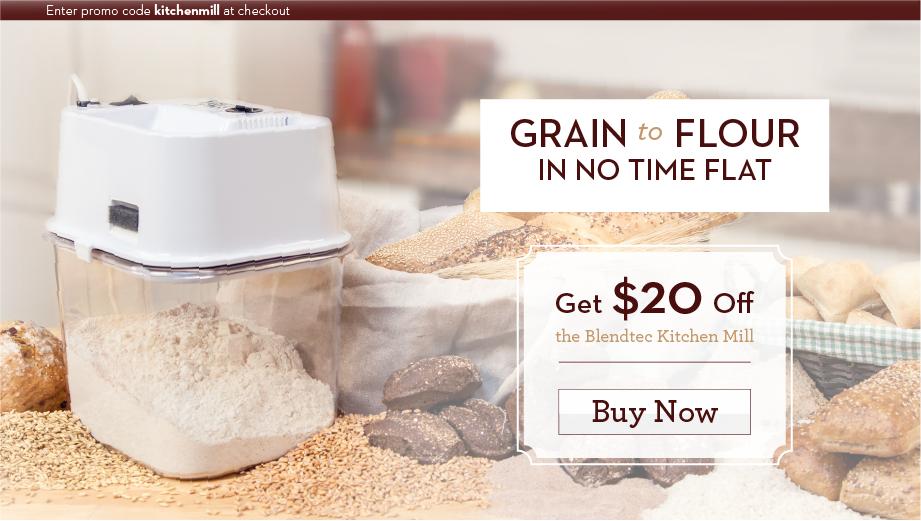 Grain to Flour Goodness