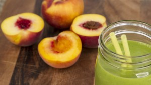 Peaches and Cream Green Blender Recipe