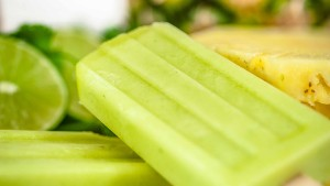 Blendtec's Pineapple-Cilantro Popsicle Recipe