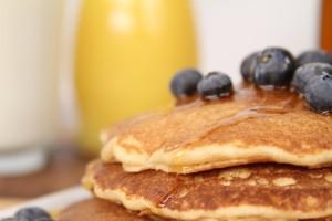 Blendtec's Whole Wheat Pancakes
