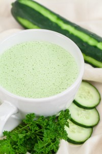 Chilled Cucumber and Yogurt Soup Blender Recipe
