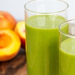 Peaches and Cream Green Blender Recipe