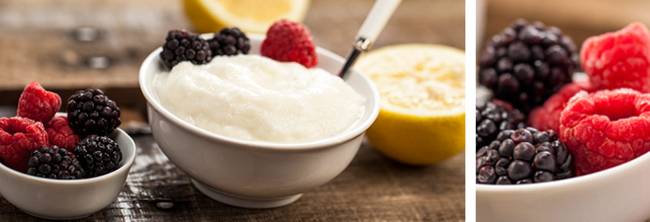 Lemon Frozen Yogurt Blender Recipe