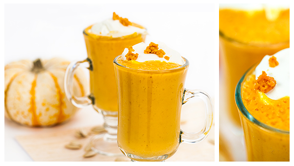 Pumpkin Pie Smoothie Blender Recipe