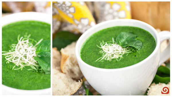 Velvety Spinach Soup Blender Recipe
