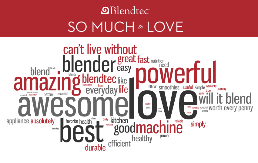 What 3 Words Describe Why You Blend Word cloud