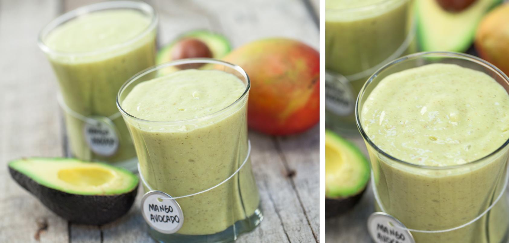 Mango-Avocado Smoothie Blender Recipe