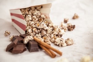 Chocolate-Cinnamon Popcorn Blender Recipe