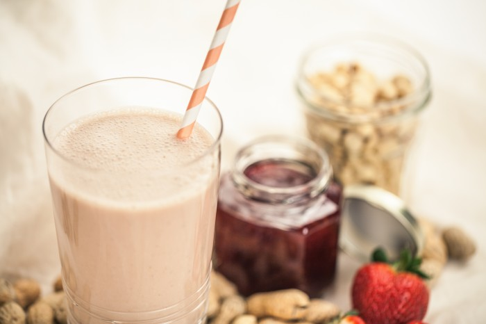 PB&J Smoothie Blender Recipe