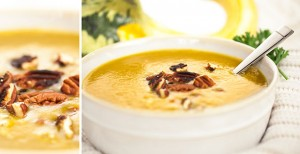 Maple Butternut Squash Soup blender recipe