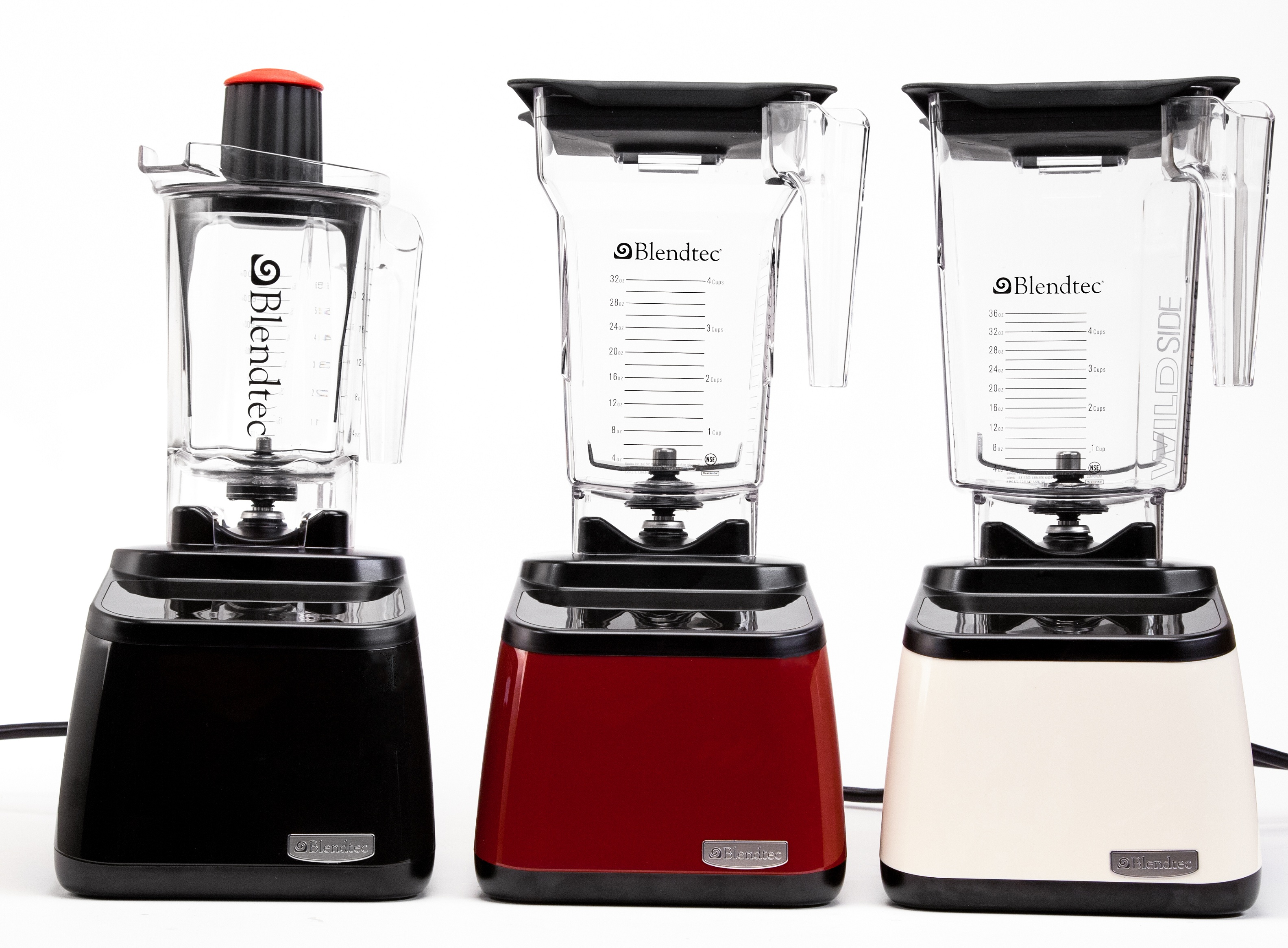 Designer series blender in 3 colors