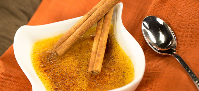 Spiced Crème Brulee Blender Recipe_featured