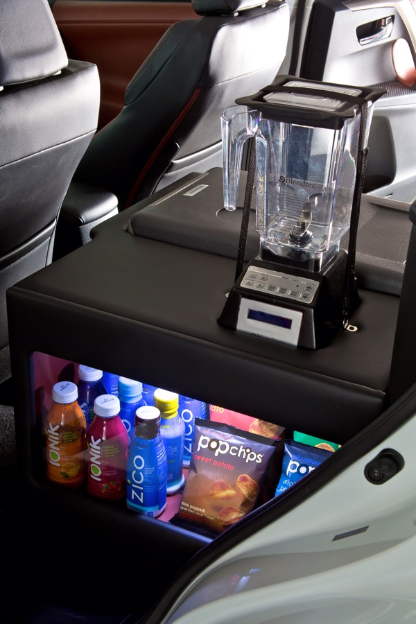 Blendtec Smoothie Station in Toyota RAV4