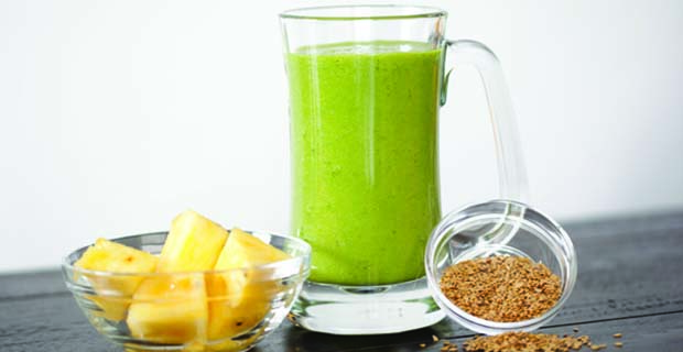 Green Flaxy smoothie_sugarcontent