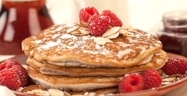 GF Raspberry Pancakes_featured