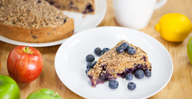 Lemon Berry Coffee Cake Recipe