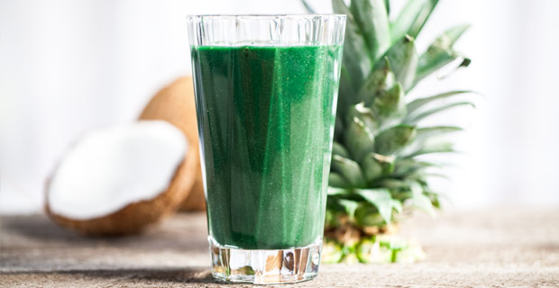 Benefits from green smoothies