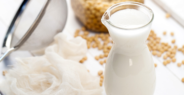 soy milk is one of many milk s that people who