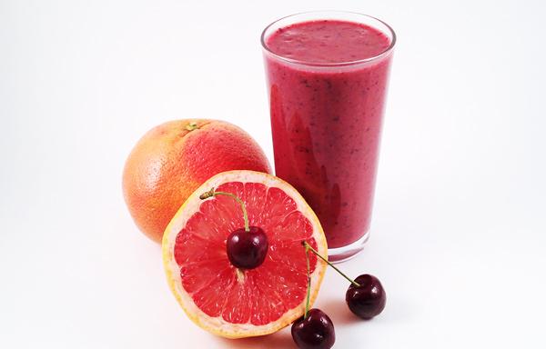 cherry grapefruit smoothie
