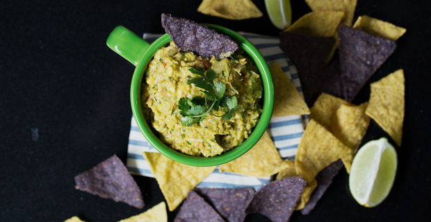 Southwest Guacamole Recipe