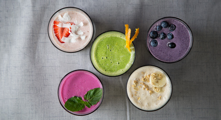 spring smoothies