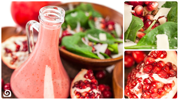 Cranberry Pomegranate Vinaigrette [Recipe of the Week]