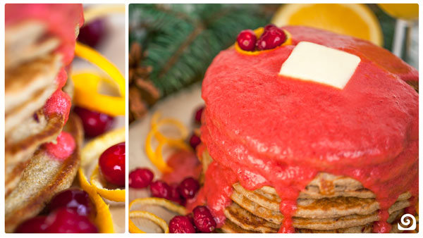 Cranberry-Orange Pancakes [Recipe of the Week]