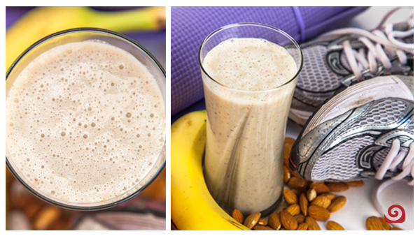 Whole Fruit and Nut Recovery Drink