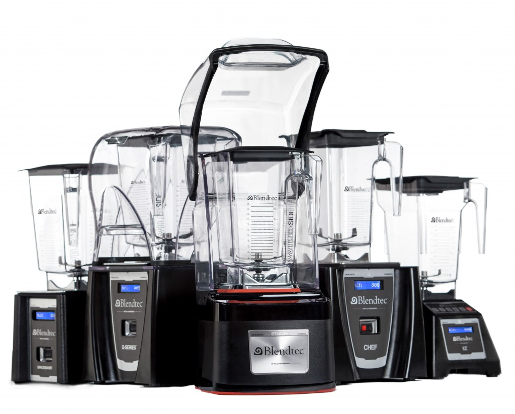 Blendtec's Commercial Blender Lineup