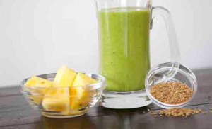 Green Flaxy Blender Recipe