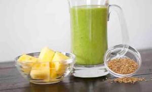 Green Flaxy Blender Recipe