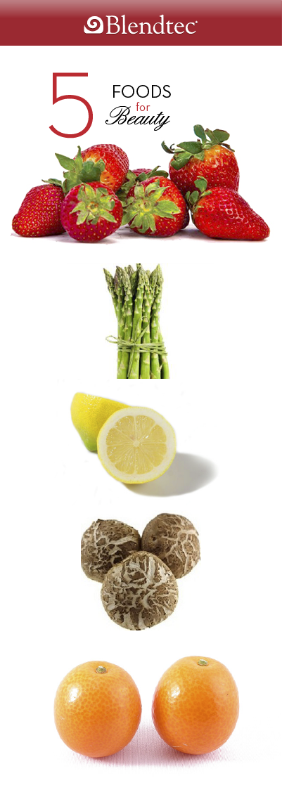 5 Foods for Beauty
