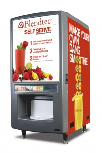 Blendtec's Self Serve Smoothie Machine