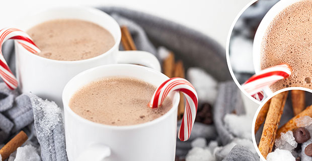 Peppermint Hot Cocoa Beverage