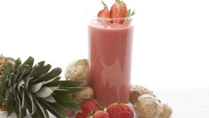 Strawberry Ginger Refresher Blender Recipe