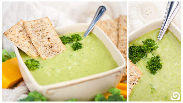 Broccoli Cheddar Soup Blender Recipe