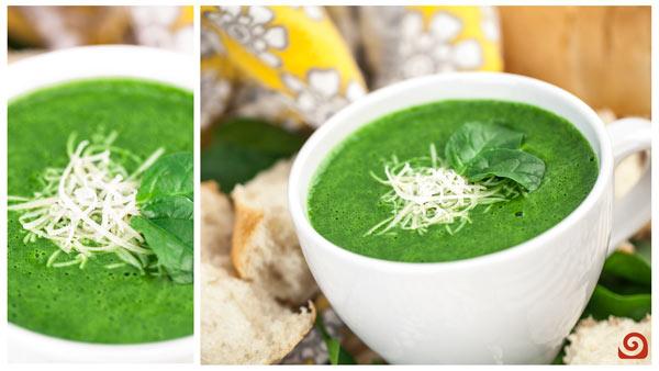 Velvety Spinach Soup Blender Recipe