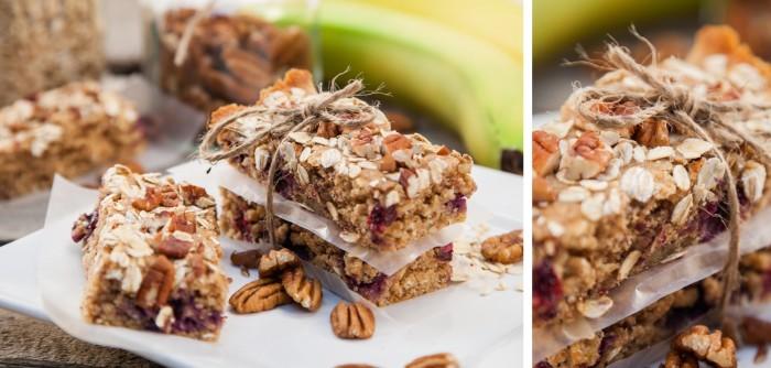 Blueberry Breakfast Bars Blender Recipe