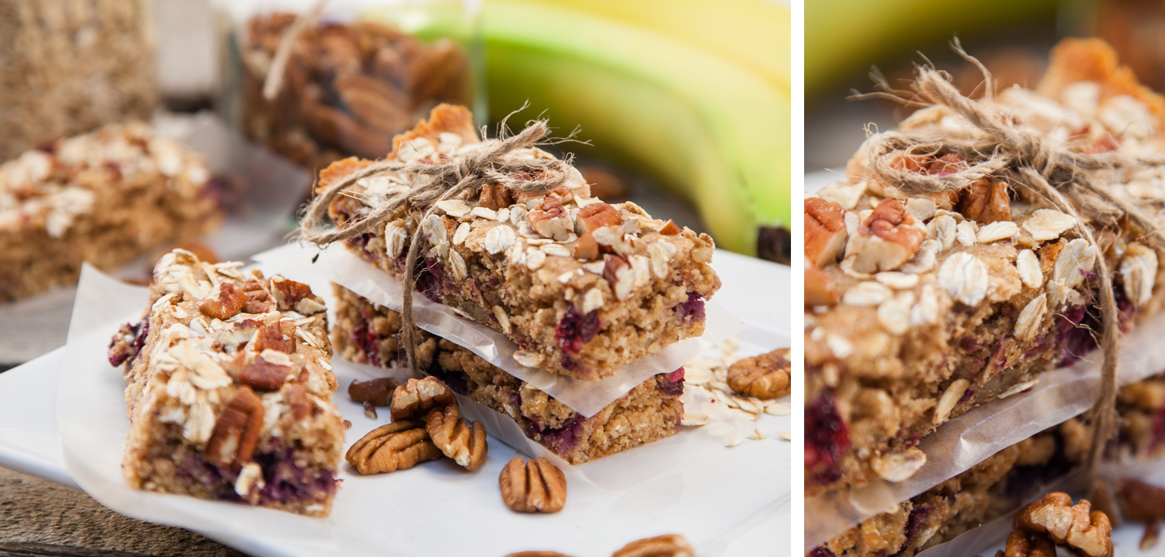 Blueberry Breakfast Bars Blender Recipe