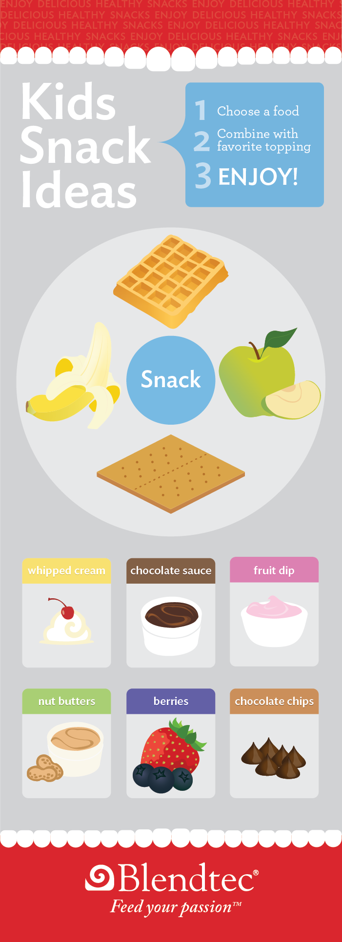 Make Your Own Snacks Poster