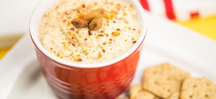 Almond Hummus blender recipe_pulp