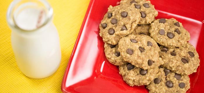 Almond Chocolate Chip Cookies blender recipe_pulp