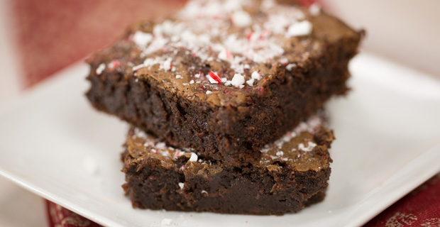 Peppermint Brownies Recipe_featured