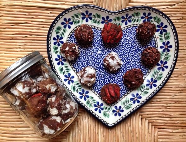Raw Cocoa Protein Truffle