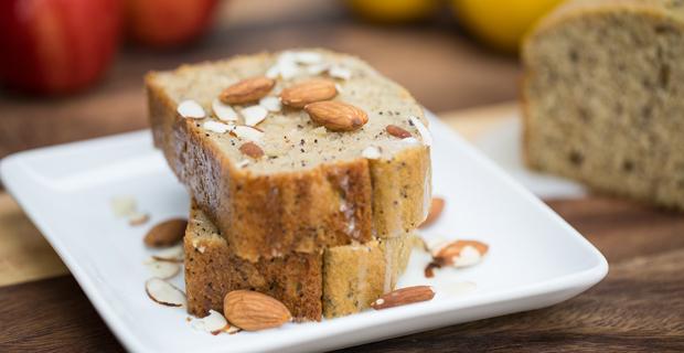 Almond Poppy Seed Bread