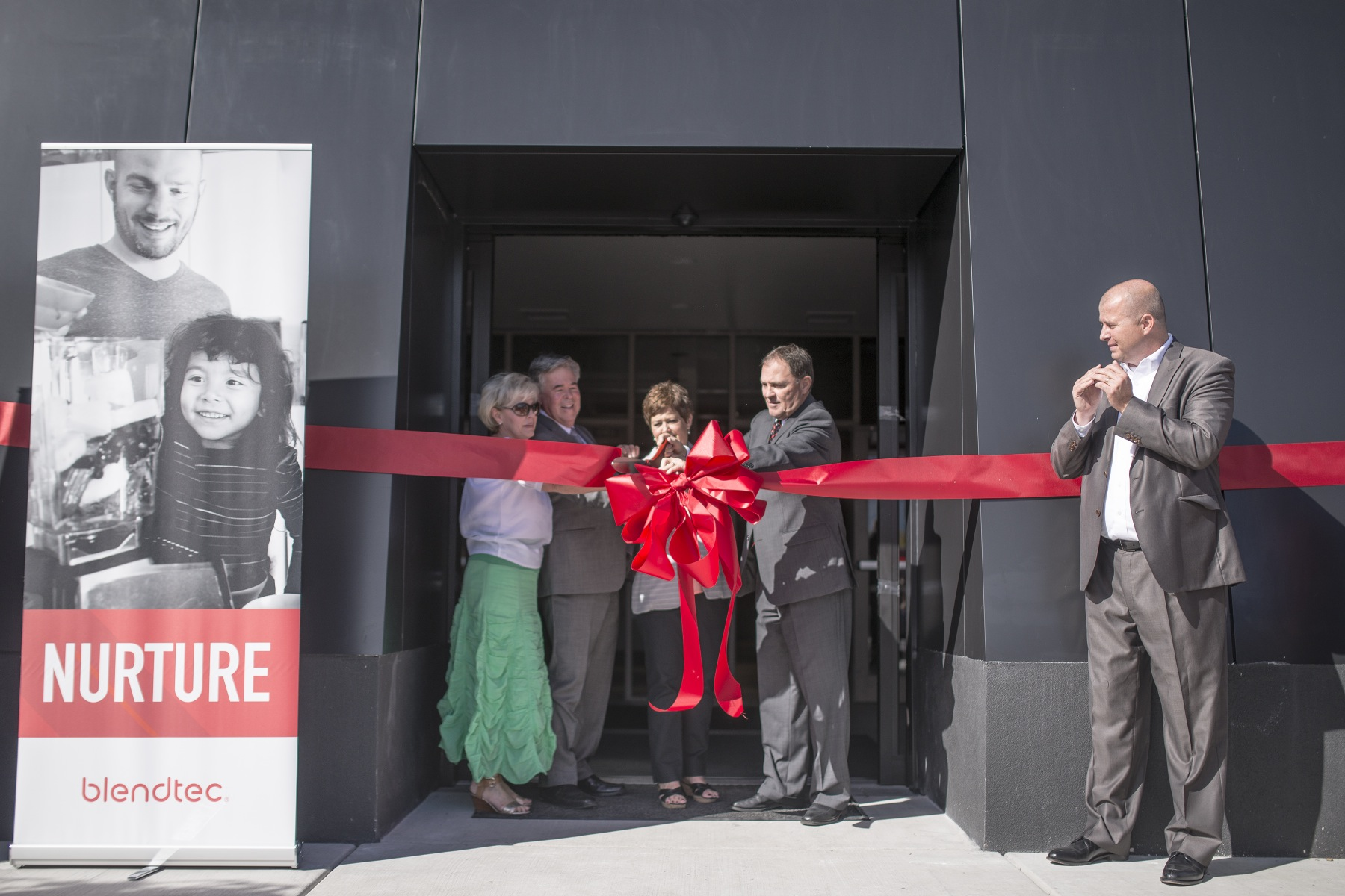 Blendtec Ribbon Cutting