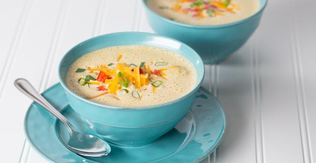 Cauliflower Cheddar Bisque Recipe