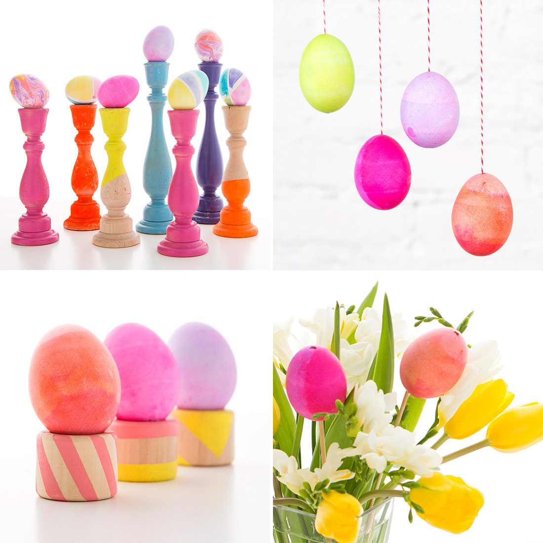 4 Easy Easter Egg Decorations