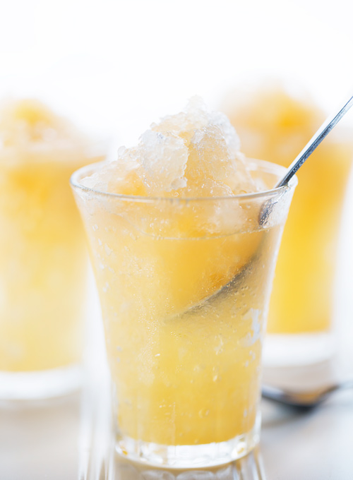 Homemade Mango-Peach Snow Cone Syrup Recipe